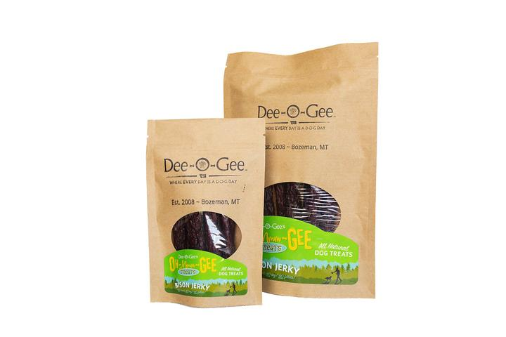 Dee-O-Gee's Oh-Mmm-Gee Dog Treats Bison Jerky
