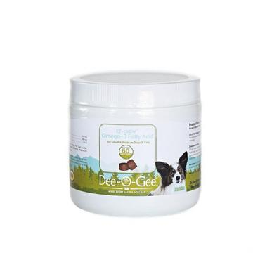 Dee-O-Gee EZ-CHEW Omega-3 Dog Supplement SM/MD 60 ct