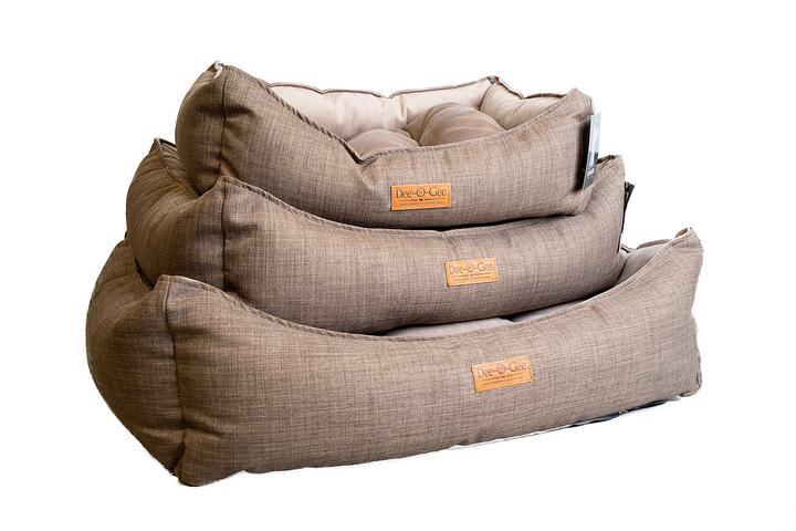 Dee-O-Gee Modern Lounger Dog Bed- Mocha