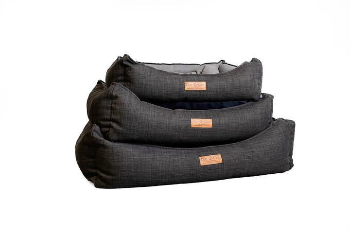 Dee-O-Gee Modern Lounger Dog Bed- Slate