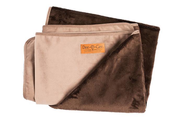 Dee-O-Gee Plush Dog Blanket - Pebble