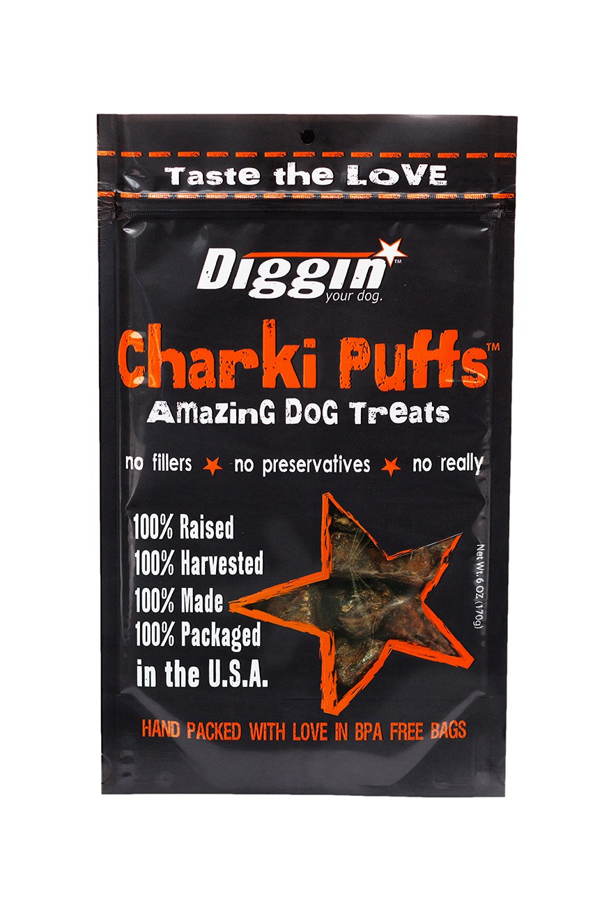 Diggin' Your Dog Charki Puffs 6oz