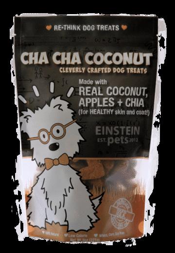 Einstein Pets Treats Cha Cha Coconut