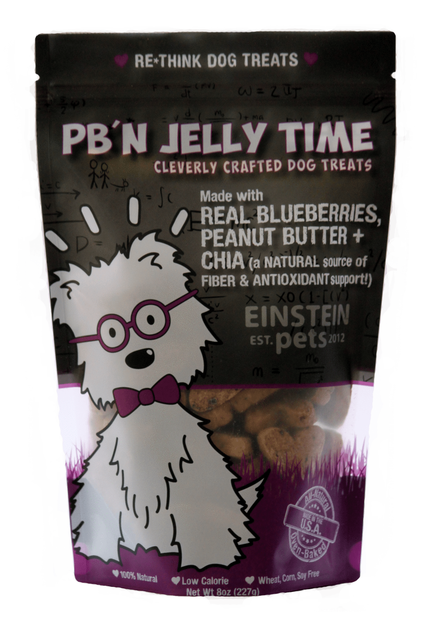 Einstein Pets Treats PB'N Jelly Time