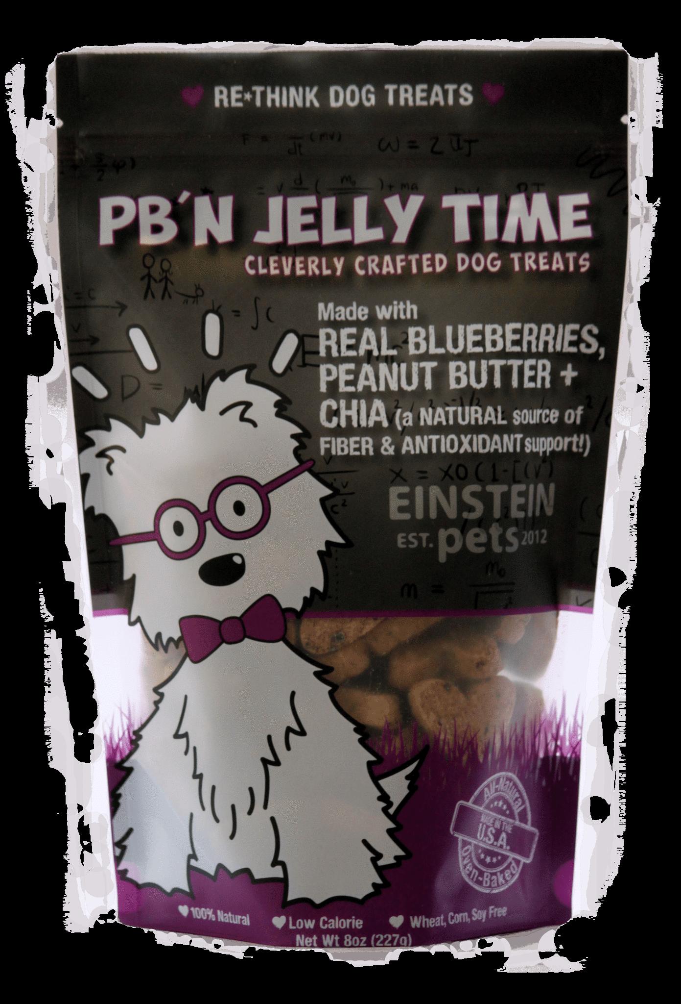 Einstein Pets Treats PB'N Jelly Time
