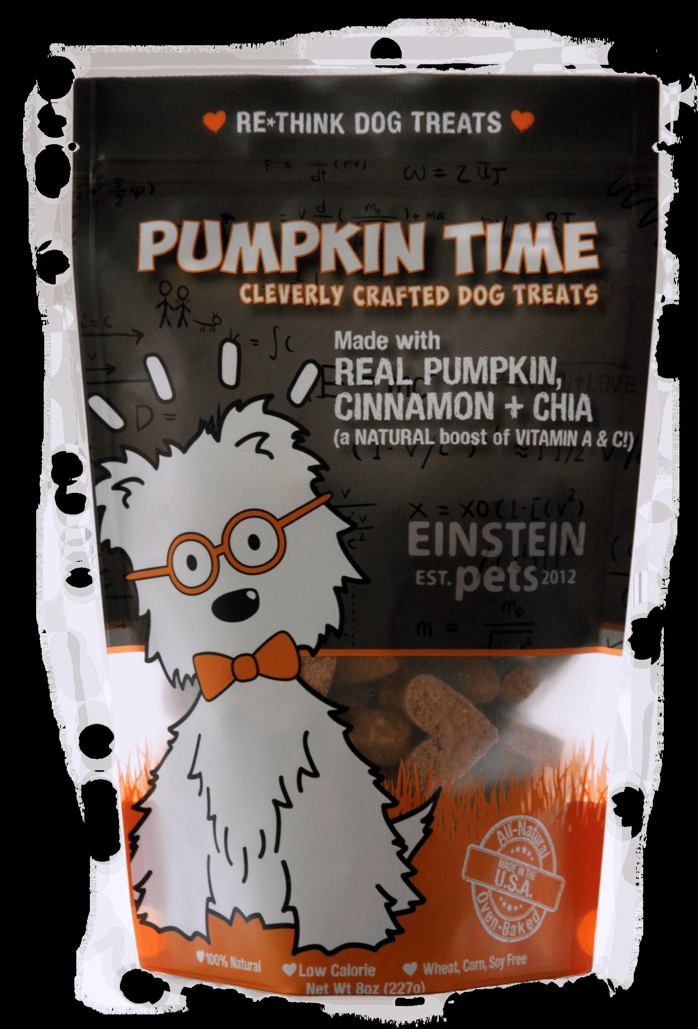 Einstein Pets Treats Pumpkin Time