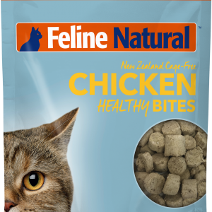 Feline Natural Healthy Bites Freeze-Dried Chicken 1.76-oz