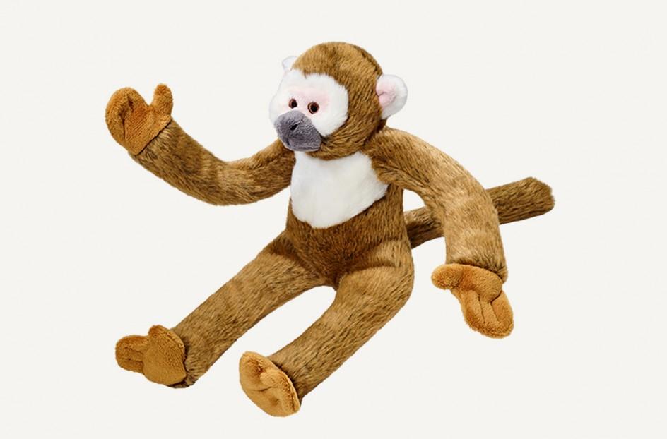 Fluff & Tuff Albert Monkey Dog Toy, Large