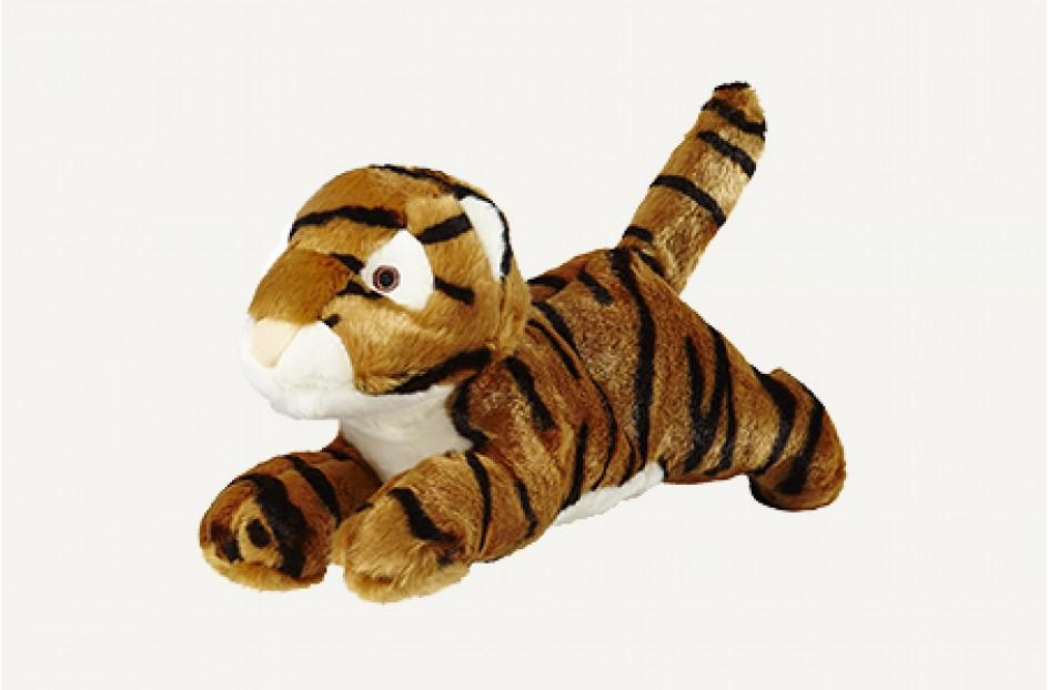 Fluff & Tuff Boomer Tiger Dog Toy, Large
