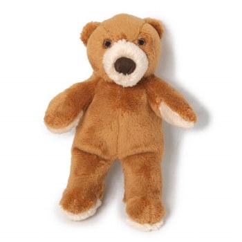 Fluff & Tuff Cubby Bear Dog Toy, Small