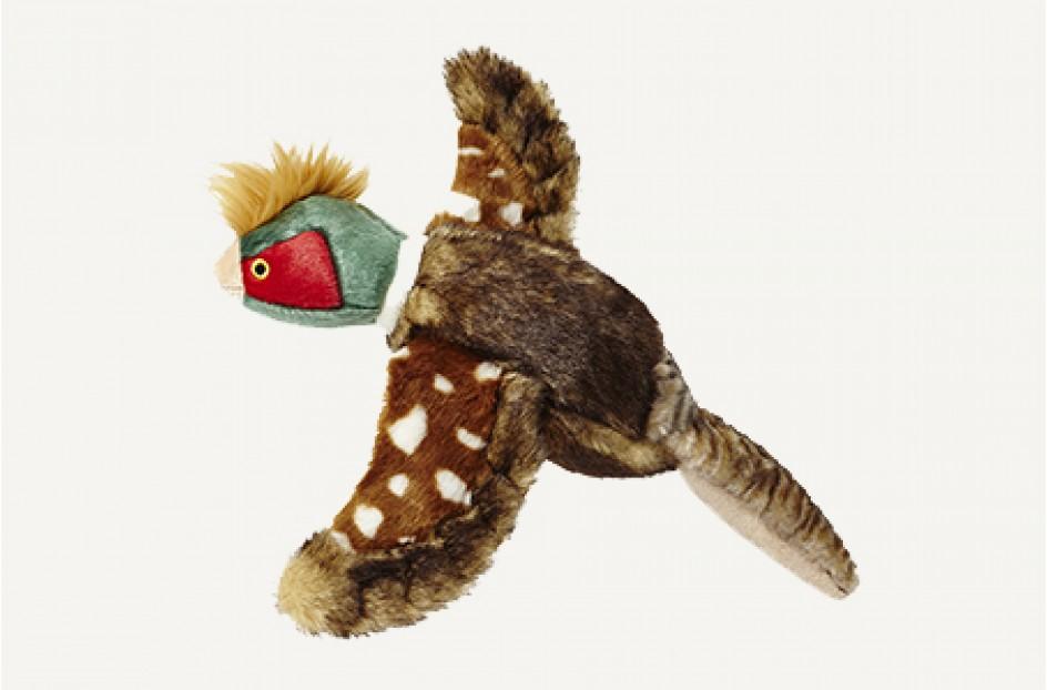 Fluff & Tuff Ike Pheasant Dog Toy, Large