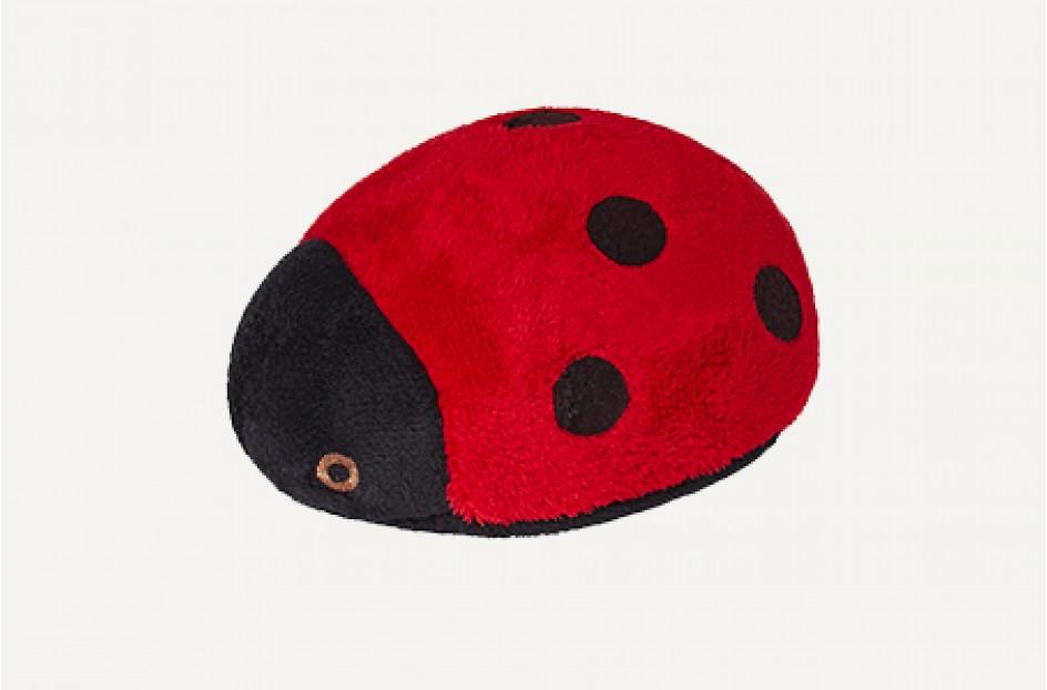Fluff & Tuff Lady Bug Dog Toy, X-Small