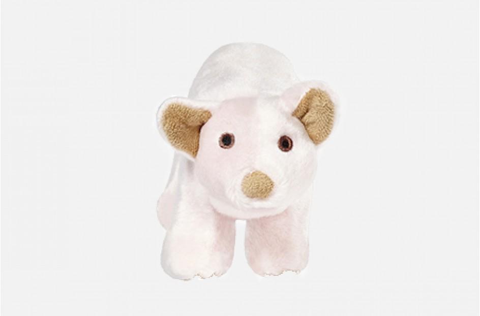 Fluff & Tuff Petey Pig Dog Toy, Small
