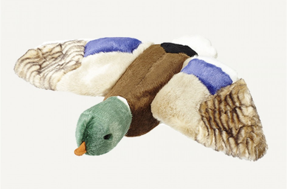 Fluff & Tuff Wally Mallard  Dog Toy, Large