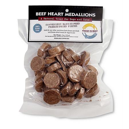 Fresh Is Best Beef Heart Medallions