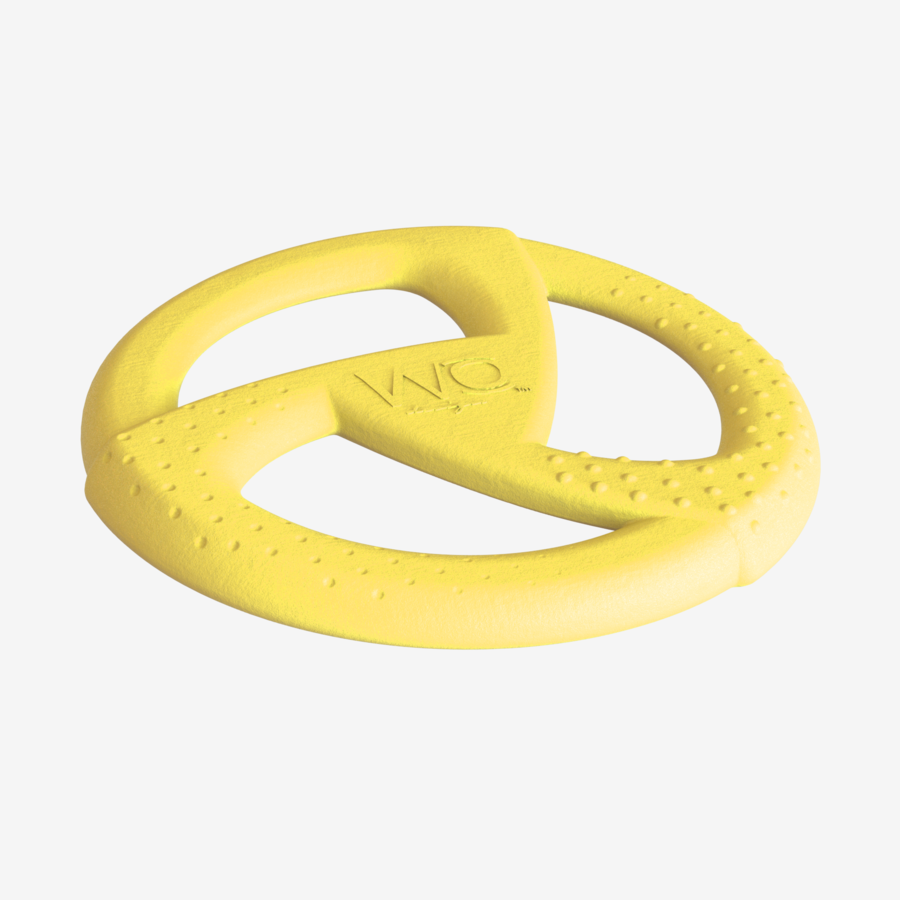 WO Disc - Yellow Dog Toy