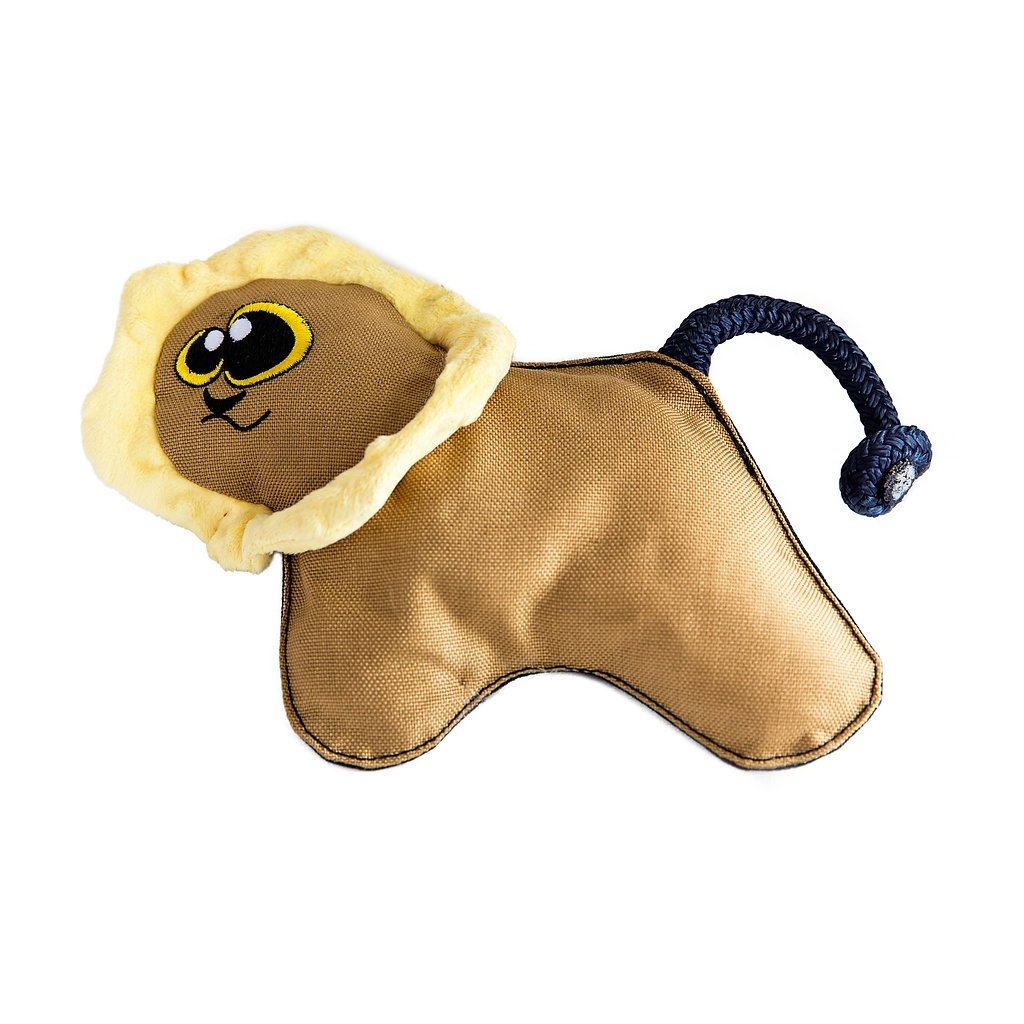 WO Wild Lion Soft & Durable Dog Toy