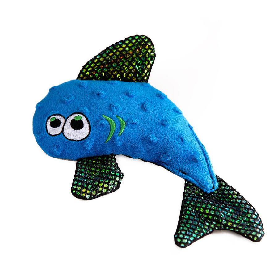 WO Wild Fish Soft & Durable Dog Toy