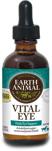 Earth Animal Vital Eye Supplement, 2-oz