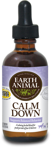 Earth Animal Calm Down Supplement, 2-oz