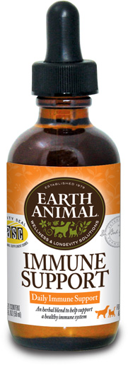 Earth Animal Immune Support Supplement, 2-oz