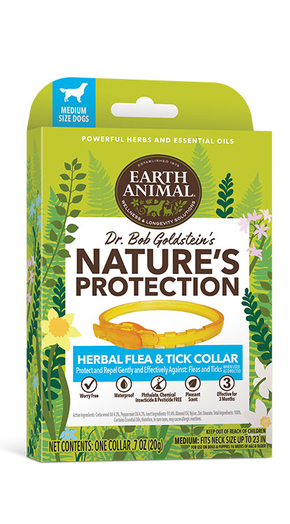 Earth Animal Flea & Tick Collar Dog, Large
