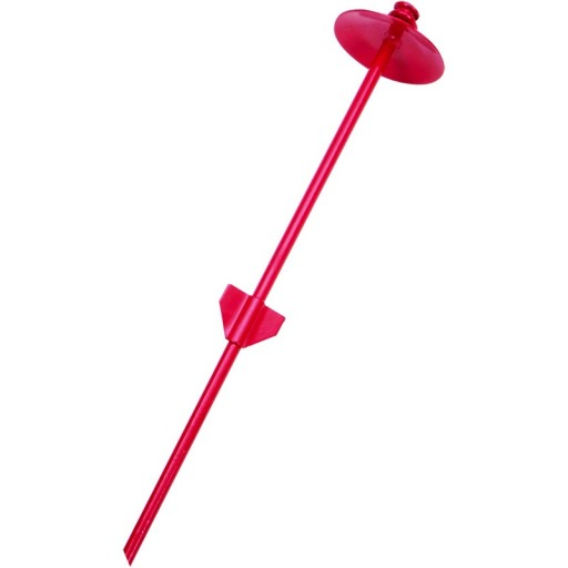 Coastal Pet Products - Titan Dog Tie Out Stakes For Hard Soil-Dome-Red , 20-in