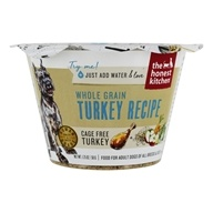 Honest Kitchen Whole Grain Turkey Recipe Dehydrated Dog Food Cup, 1.75-oz