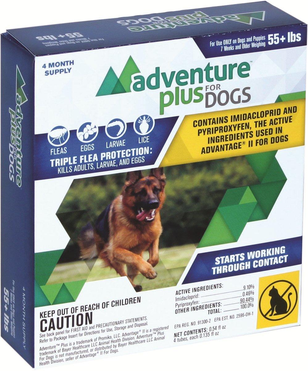 Adventure Plus Flea Treatment For Dogs 4-Pack
