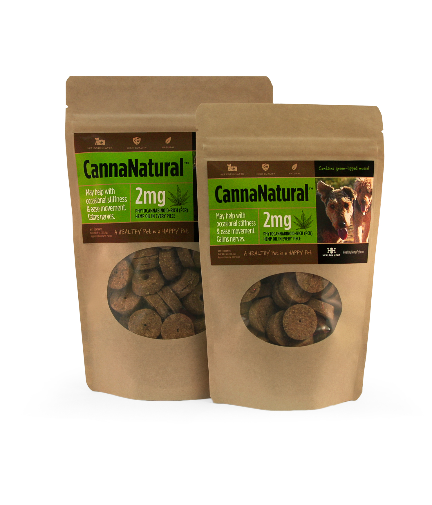 Healthy Pet CannaNatural Biscuits