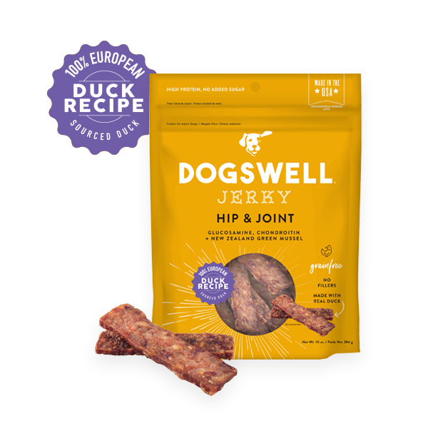 Dogswell Jerky Grain-Free Hip & Joint Duck Treat