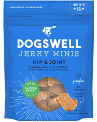 Dogswell Jerky Grain-Free Hip & Joint Chicken Mini Treat