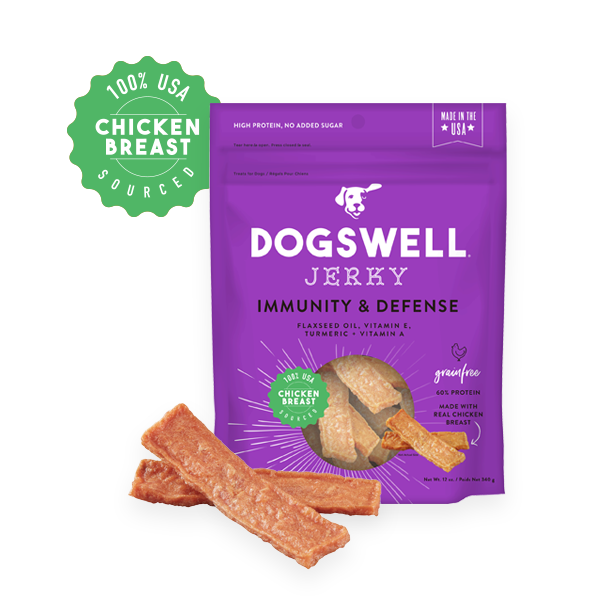 Dogswell Immunity & Defense Grain-Free Chicken Jerky Treat
