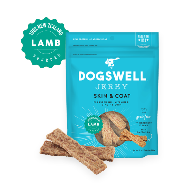 Dogswell Skin & Coat Grain-Free Lamb Jerky Treat