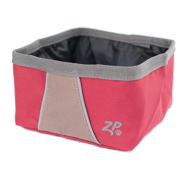 ZippyPaws Adventure Bowl, Desert Red