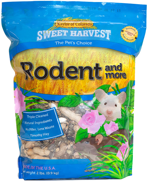 Kaylor Sweet Harvest Enriched Rodent & More, 4-lb