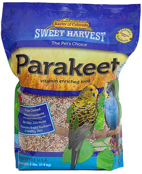 Kaylor Sweet Harvest Enriched Parakeet Food