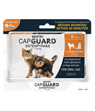 Sentry Capguard Dogs & Cats 2-25 lbs.