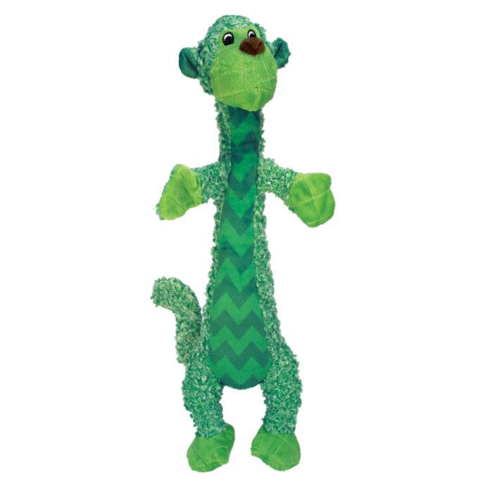 Kong Shakers Luvs Monkey Plush Toy, small