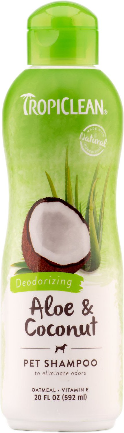 TropiClean Deodorizing Aloe & Coconut Dog & Cat Shampoo Image