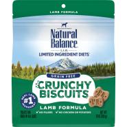 Natural Balance L.I.D. Crunchy Biscuits Lamb Formula Dog Treats