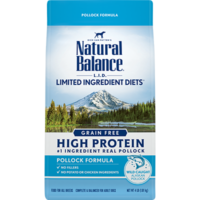 Natural Balance L.I.D. Limited Ingredient Diets High Protein Pollock Formula Dry Dog Food