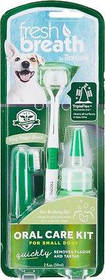 TropiClean Fresh Breath Oral Care Toothbrush Kit