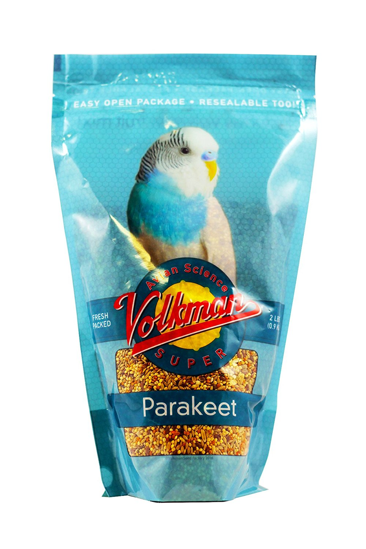 Volkman Avian Science Parakeet Food, 2-lb bag