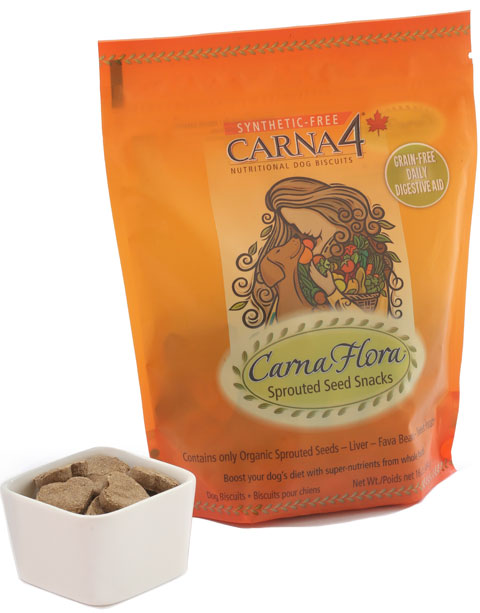 Carna4 Flora Sprouted Seed GF Dog Snacks