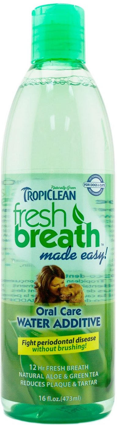 TropiClean Fresh Breath Water Additive Image