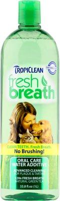 TropiClean Fresh Breath Water Additive