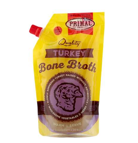 Primal Turkey Frozen Bone Broth