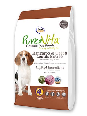 PureVita Grain-Free Kangaroo & Green Lentil Dry Dog Food