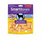 SmartBones Bacon & Cheese Chew Dog Treats, Small 6-ct